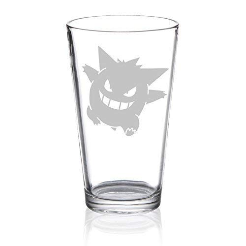 Gengar - Etched Pint Glass
