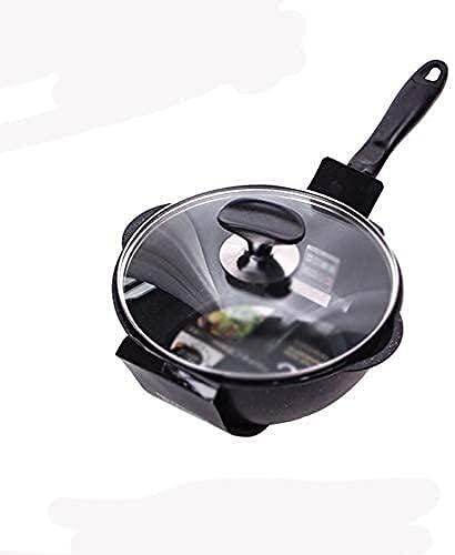 Utensilios de cocina Sartén antiadherente de 38 cm Wok antiadherente | Sartén...