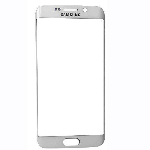 UU FIX Display Frontale Vetro per Samsung Galaxy S6 Edge Plus(Argento) Telefono Cellulare LCD Touch Screen Vetro Frontale e con Set di Attrezzi