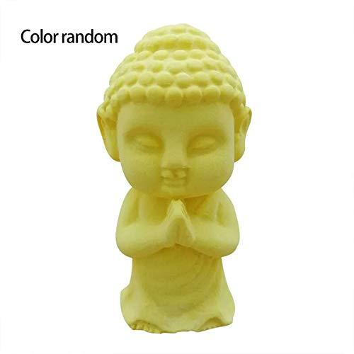 MXECO 3D Bouddha Moule en Silicone à la Main Statu Bouddha Cuisson décoratif gâteau Outils aromathérapie plâtre Moule Vie Rone