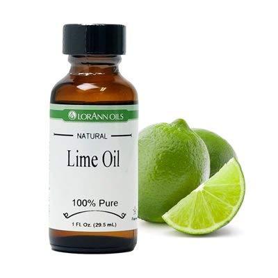 LorAnn Lime Oil SS, Natural Flavor, 1 ounce bottle
