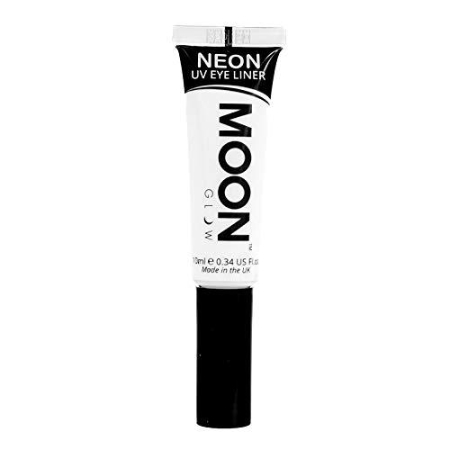 Moon Glow – Eye liner néon UV 10ml Blanc. qui produisent un effet fluo incroyable sous la lumière ultraviolette ou noire !
