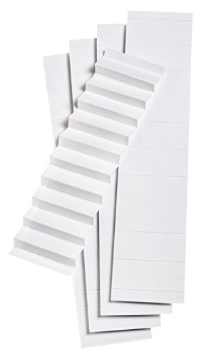 Pendaflex Blank Inserts for 1/5 Cut Hanging File Folders, 2 in, White, 100/Pack (242)