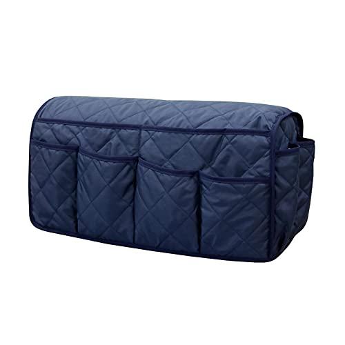 Ulapithi Organizador para reposabrazos de sofá, 14 bolsillos, para colgar mandos a distancia de TV, teléfono, libros, aperitivos, revistas