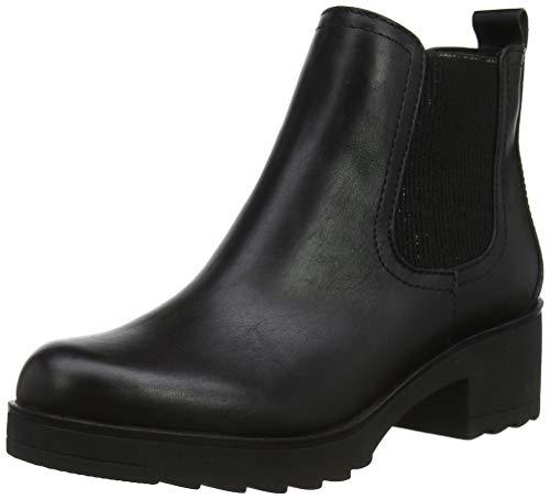 MARCO TOZZI Damen 2-2-25806-33 Chelsea Boots, Schwarz (Black Antic 002), 38 EU