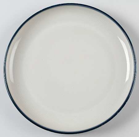 Sango Jewel-Blue Dinner Plate, Fine China Dinnerware