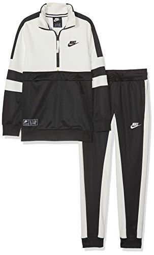 Nike B Air TRK Suit Cuff Tracksuit, Niños, Black/Sail, XS