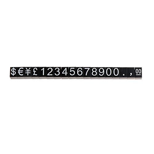 RG-FA - Etiqueta de precio, diseño de pentágono de plástico, accesorios ajustables,...