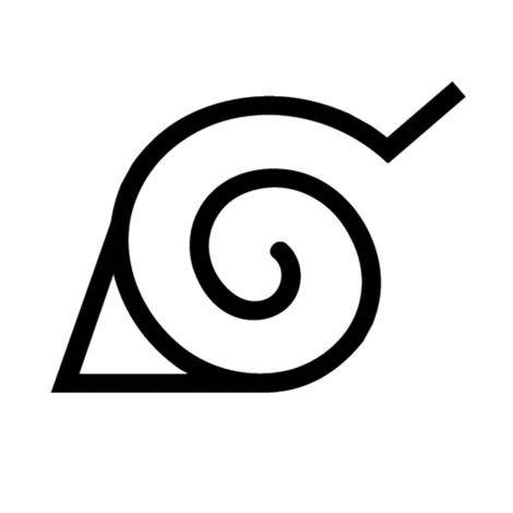 Naruto Konoha Anbu Anime Tokio Vinyl Decal Sticker Ops Symbol for Wall Car Window Laptop Die Cut (5.5' inches (Black)