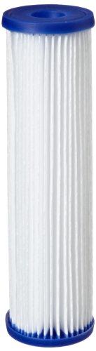 "Pentek - 155038-43 R50 Pleated Polyester Filter Cartridge, 9-3/4"" x 2-5/8"", 50 Microns"