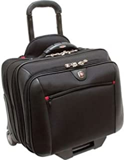 TRG WA-7966-02F00 SWISSGEAR POTOMAC ROLLING CASE BLACK FITS UP TO 15.4IN LAPTOP