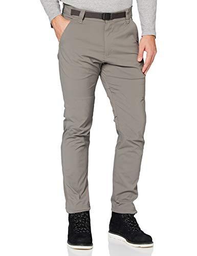 All Terrain Gear by Wrangler Convertible Trail Jogger Pantalones de senderismo, Carbón, 36/32 para Hombre