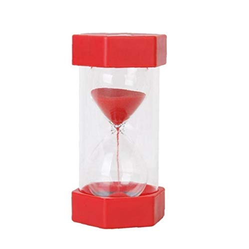 1 Minuto de Seguridad de Reloj de Arena roja de la Arena Temporizador Teacher Created Recursos