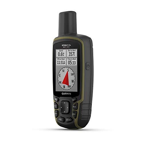Garmin GPSMAP 65s, Handgerät mit Höhenmesser und Kompass, erweiterter Satellitenunterstützung und Multiband-Technologie, 6,6 cm Farbdisplay