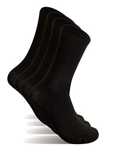 4 Pares Calcetines hombre, Talla 40-46 calcetines de vestir