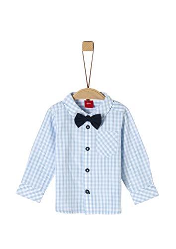 s.Oliver Baby-Jungen 59.911.21.4375 Hemd, Blau (Light Blue Check 50n1), (Herstellergröße: 92)