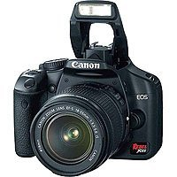 Image of Canon Rebel XSi DSLR Camera with EF-S 18-55mm f/3.5-5.6 IS Lens (OLD MODEL): Bestviewsreviews