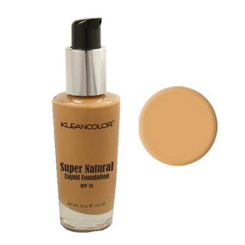 幻想的さわやか奇跡KLEANCOLOR Super Natural Liquid Foundation - Warm (並行輸入品)