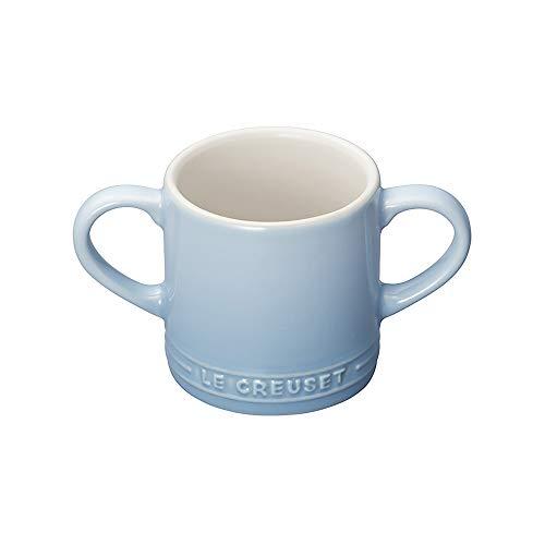 ル・クルーゼ(Le Creuset) マグカップ ベビー・マグカップ 120 ml コースタルブルー 耐熱 耐冷 電子レンジ オーブン 対応 【日本正規販売品】