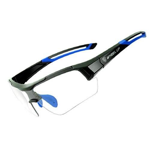 Einen.kreislauf.durchmachenglas Photochromic Sport Goggle Winddichtes Bike Sonnenbrillen UV-Schutz Brillen Fahrradgriffe