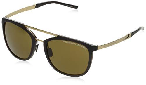 Occhiali da Sole Porsche Design P'8671 Brown Gold/Brown 55/20/140 uomo