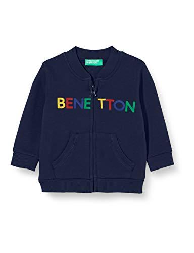 United Colors of Benetton (Z6ERJ) Jungen Giacca M/L Pullover, Peacoat 252, M