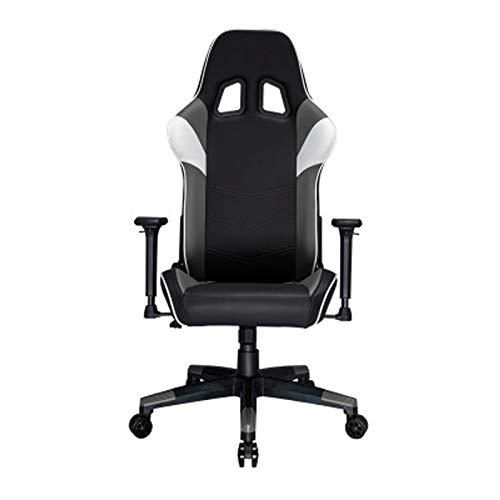 Silla de juego con respaldo alto para carreras, respaldo alto, con función de rotación y silla ergonómica ajustable para el hogar y la oficina, color verde