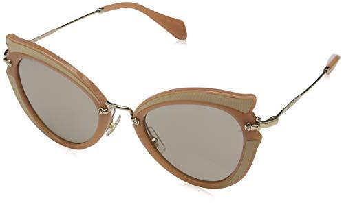 Miu Miu Damen 0Mu05Ss Vhz5J2 52 Sonnenbrille, Braun (Ocher/Light Brown)