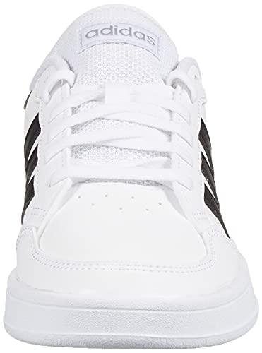 adidas BREAKNET, Zapatillas de Tenis Mujer, FTWBLA/NEGBÁS/Plamet, 39 1/3 EU