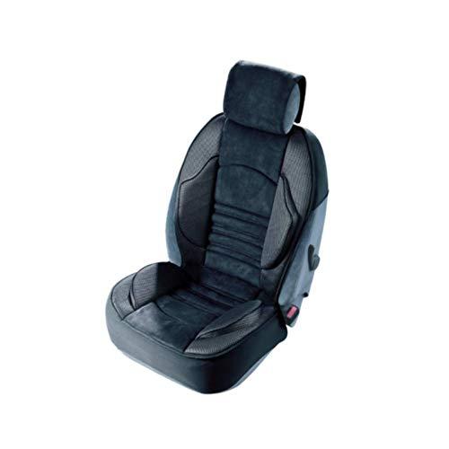 Cubre asiento delantero gran confort para Omega A Break (1987/09-1994/03), 1 pieza, gris antracita