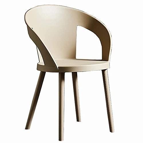 WSDSX Stuhl Modern Design Esszimmerstühle Home Stuhl Für Office Lounge Kunststoffsitz Lagergewicht 150kg Wohnzimmer Sessel (Farbe: Grün)