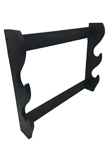 Shop SoftAir® Soporte expositor de pared de madera para Katana de 2 plazas