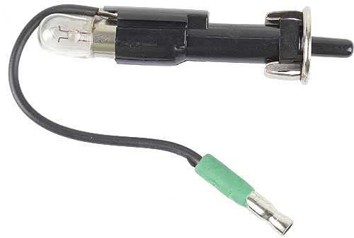 MACs Auto Parts 42-35025 - Glove Box Light Switch - Plunger-Type Switch With Wiring Pigtail & Bulb - Fairlane & Torino