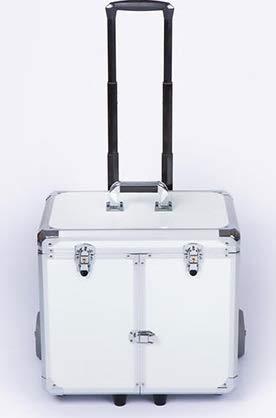 Fusspflegekoffer Modell Easy CS-WHITE PEARL Generalüberholt & neues Design