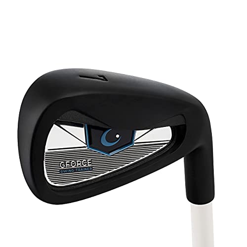 GForce Golf Swing Trainer 7 Iron (R/H) Rory McIlroys New Tool - Super Flexible Shaft Fixes Swing Path, Tempo, Rhythm, Transition, Sequence, Release & Speed - (Std Length 37' & Weight 1.07 lbs / 487g)