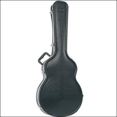 Ortola 0724-001 - Estuche ABS guitarra electro acústica, color negro