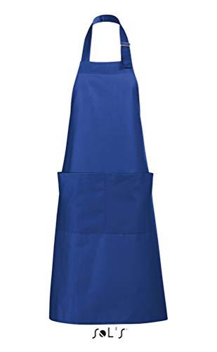 SOL´S Long Apron Gala, Farbe:Royal Blue, Größe:75 x 90 cm