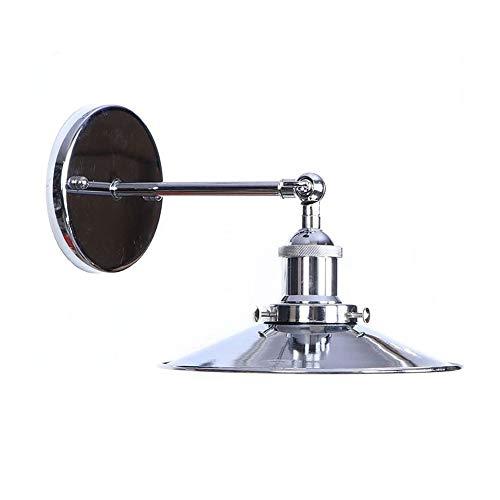 ZAKRLYB Lámpara de Pared de Hierro Forjado Ajustable Edison Bulb E27 Pasillo de Pasillo Iluminación Lámpara de Lectura Lámpara de Lectura Inicio Iluminación Decorativa Adecuado for Bares Cafeterías y