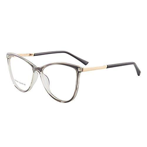 Gafas de bloqueo de luz azul, gafas de computadora anti azul rayo, filtro de juego de lectura Disminución de la cepa de ojos, marco ligero clásico de la moda para mujeres regalo de las mujeres