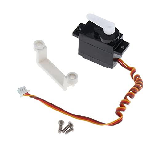 Sharplace Servo Digitale Timone Motore Anteriore Assemblato per Parti Drone WLtoys X450 RC