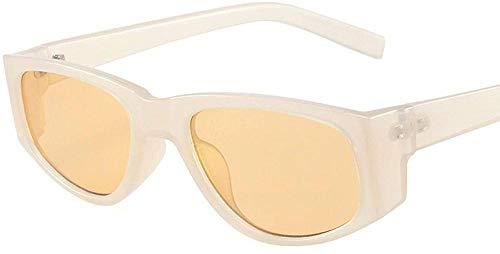 HNsusa Gafas de sol Gafas de sol retro para mujer Gafas de sol de gran tamaño Mujeres Gafas de sol con montura de PC Gafas Hombres Gafas vintage Tendencia 4