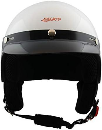 Ska P Helm Demi Jet 1fh Smarty M 57cm Nero Metal Auto