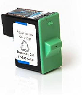 Ink Now Premium Compatible Dell Color Ink Jet T0530 for Photo 720, A920 Printers yld