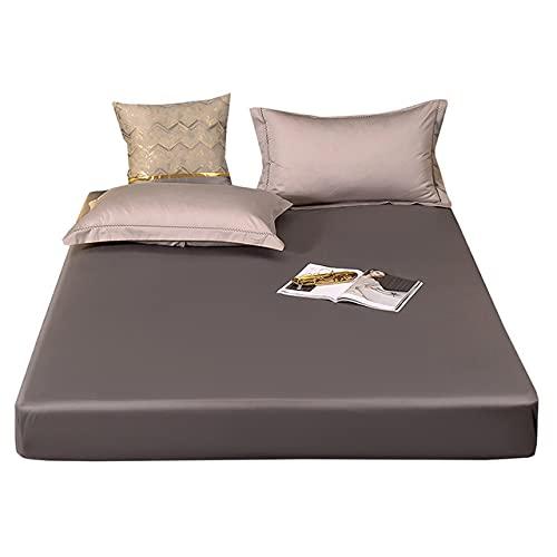 Vattentätt madrasskydd 180x200 Madrassöverdrag - Mattress Protector Andningsbart och Allergivänligt Mjukt Sängöverdrag Som Andas väl och Ger Sömnkomfort och är Damm