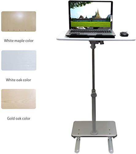 LY88 Multi-Funktion Verstellbarer Laptop-Tisch, mobiler Desktop-Wagen, höhenverstellbar, stehender fauler Tisch Sofa Nachttisch Büro Vortragstisch, 3 Farben