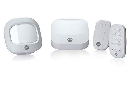 Smart Home Sync Yale-Starter Kit d'alarme avec clavier intégré avec Alexa