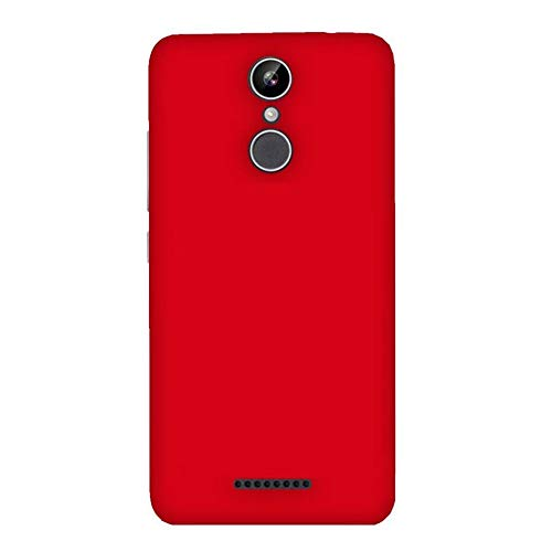 metoo transparent soft silicon flexible mobile back cover for xolo era 2x, print : (red)