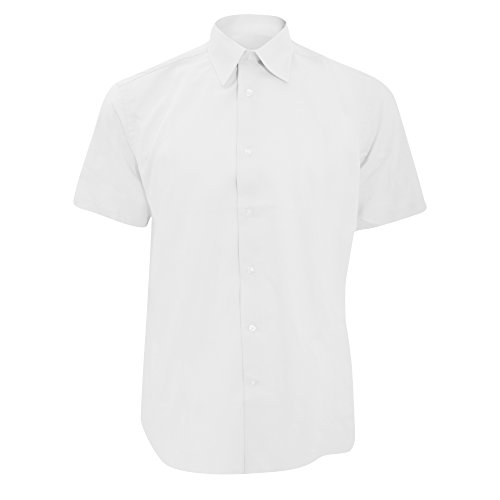 Russell - Chemise Manches Courtes - Homme (XS) (Blanc)