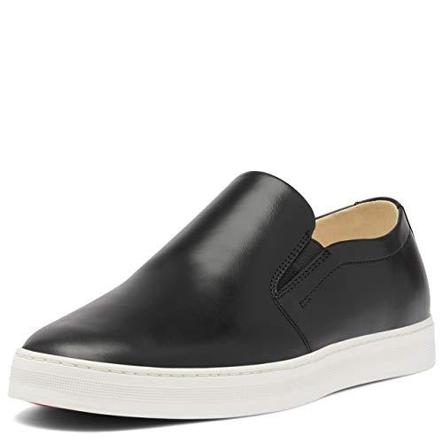 Sorel Men's Caribou Mod Slip-On - Waterproof - Black, Sea Salt - Size 9