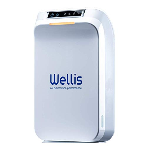 Wellis Air Disinfection Purifier - Air Purifier for Air and Surface Disinfection from Virus, Bacteria, Fungi, Molds and other Hazardous substances